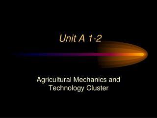 Unit A 1-2