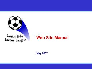 Web Site Manual