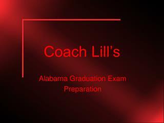 Coach Lill's