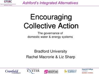 Encouraging  Collective Action