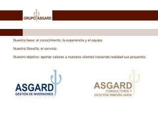Presentación de GRUPO ASGARD