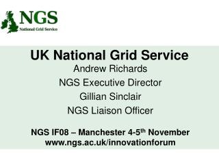 UK National Grid Service