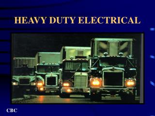 HEAVY DUTY ELECTRICAL