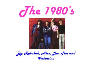 The 1980�s