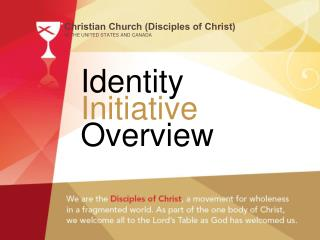 Identity Initiative Overview