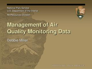 Management of Air Quality Monitoring Data