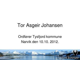 Tor Asgeir Johansen
