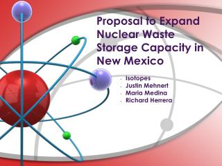 Proposal to Expand Nuclear Waste Storage Capacity in New Mexico