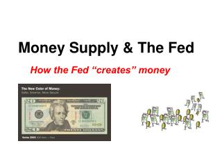 Money Supply & The Fed