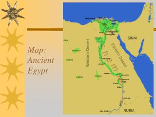 Map: Ancient Egypt