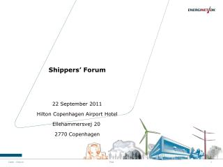 Shippers' Forum
