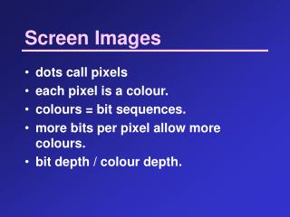 Screen Images
