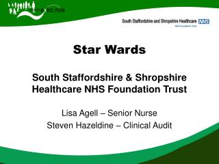 Star Wards  South Staffordshire  Shropshire Healthcare NHS Foundation Trust