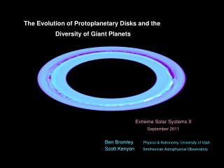 The Evolution of Protoplanetary Disks and the  Diversity of Giant Planets