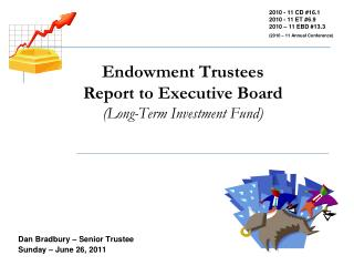 Endowment Trustees Report to Executive Board (Long-Term Investment Fund)