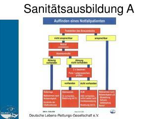 Sanitätsausbildung A