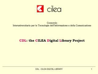 Consorzio  Interuniversitario per le Tecnologie dell'Informazione e della Comunicazione