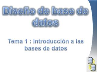 Diseño de base de datos