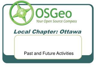 Local Chapter: Ottawa