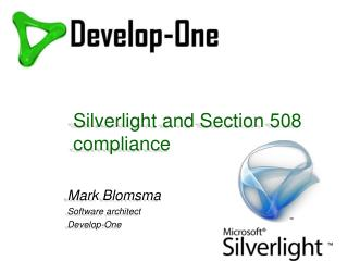 Silverlight and Section 508 compliance