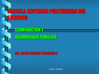 ESCUELA SUPERIOR POLITECNICA DEL EJERCITO