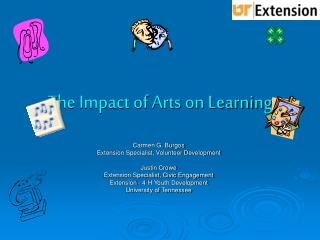 The Impact of Arts on Learning