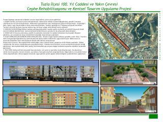 Tuzla İlçesi 100. Yıl Caddesi ve Yakın Çevresi