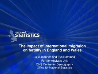 The impact of international migration on fertility in England and Wales