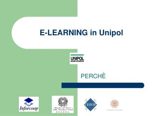E-LEARNING in Unipol