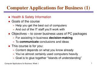 Computer Applications for Business (1)