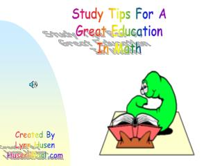 Study Tips For A Great Education In Math