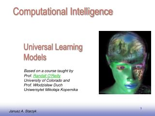Universal Learning Models