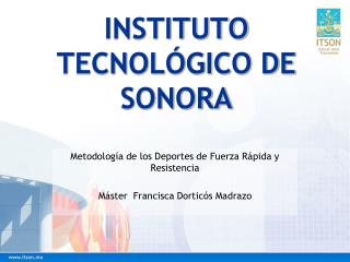 INSTITUTO TECNOLÓGICO DE SONORA