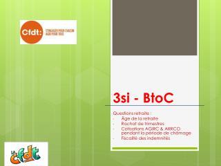 3si -  BtoC