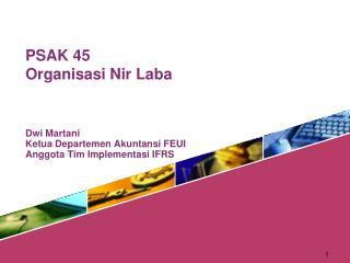 PSAK 45 Organisasi Nir Laba