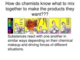 How do chemists know what to mix together to make the products they want???