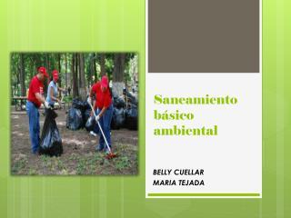 Saneamiento básico  ambiental