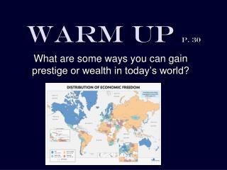 Warm Up  p. 30