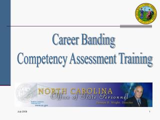 Career Banding  Competency Assessment Training