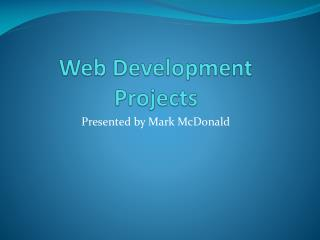 Web Development Projects