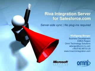 Riva Integration Server for Salesforce