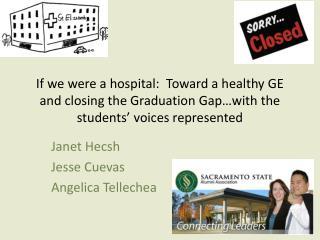Janet Hecsh Jesse Cuevas Angelica Tellechea