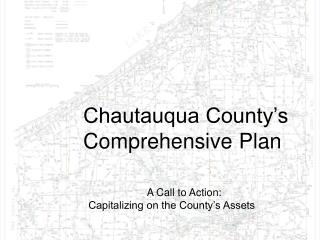 Chautauqua County's  Comprehensive Plan