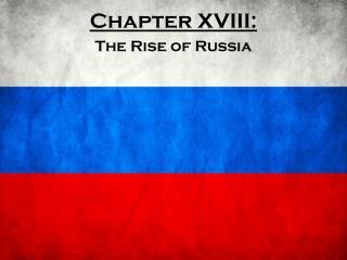 Chapter XVIII: