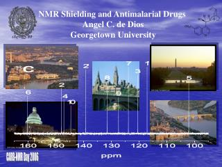 NMR Shielding and Antimalarial Drugs  Angel C. de Dios Georgetown University