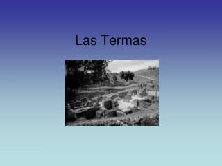 Las Termas
