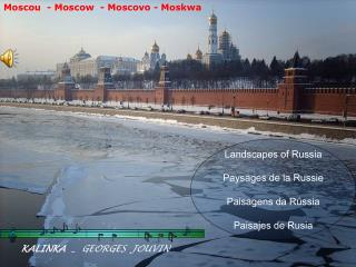 Moscou  - Moscow  - Moscovo - Moskwa