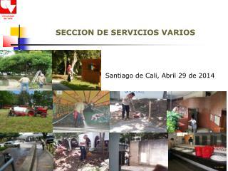 SECCION DE SERVICIOS VARIOS