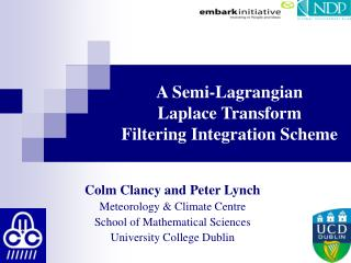 A Semi-Lagrangian  Laplace Transform  Filtering Integration Scheme