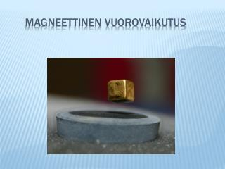 Magneettinen vuorovaikutus